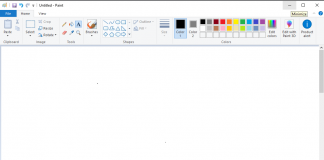 how to rotate text in ms paint