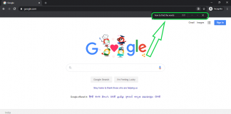 how to search for a word on a web page chrome