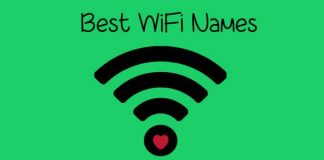Best Wifi funny names